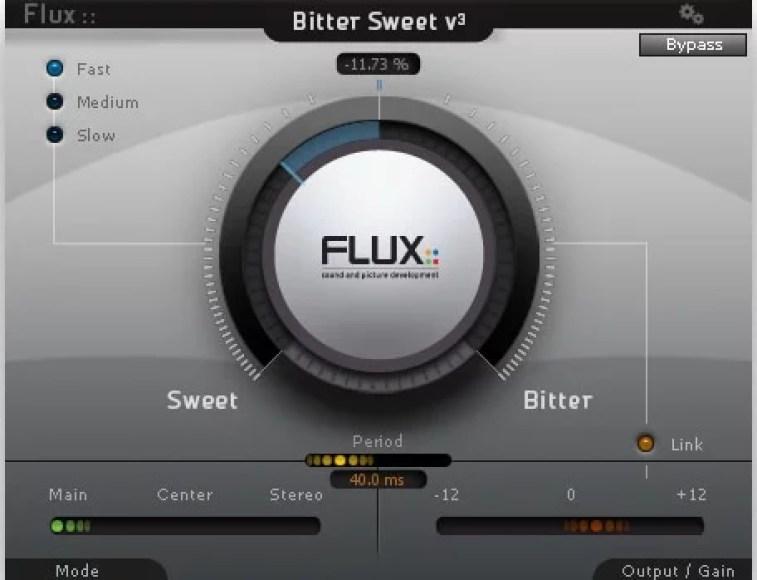 The BitterSweet Transient Designer free VST Plugin