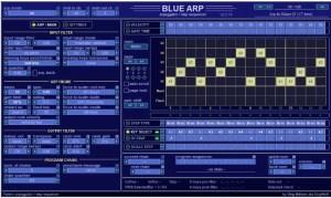 BlueARP MIDI Arpeggiator Free VST Plugin