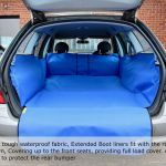 Skoda Up To Front Seats Boot Liner