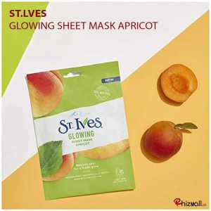 St. Ives Glowing Sheet Mask Apricot