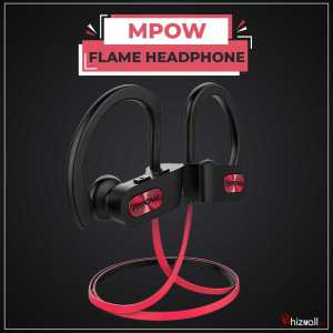 Mpow Flame Bluetooth Headphones IPX7 Waterproof Wireless headphones Bass+ HD Stereo Wireless Sport Earbuds Noise Cancelling Mic