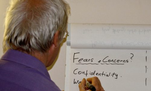 Fears concerns confidentiality cropped