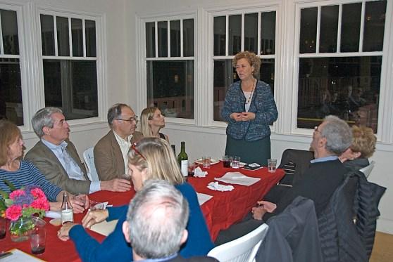 Julie Christensen at RHN Board Meeting
