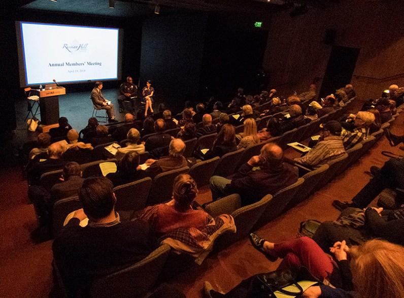 Members attending the Annual Meeting