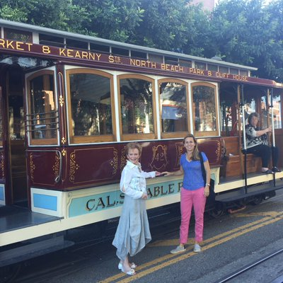 Two Presidents and a Historic Cable Car