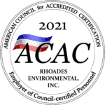 Rhoades Environmental - American Council for Accredited Certifications - Employer of Council-certified Personnel