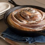Cast Iron Cinnamon Roll Rhodes Bake N Serv