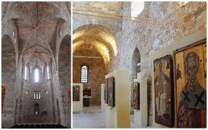 Eglise Notre Dame du Château à Rhodes