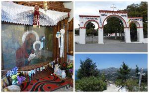 Monastère et chapelle de Tsambika à Rhodes