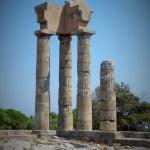 Temple d'Apollon Rhodes