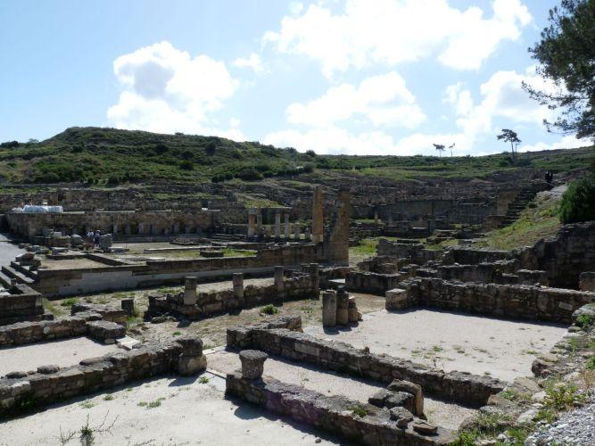 Site archéologique de Kamiros