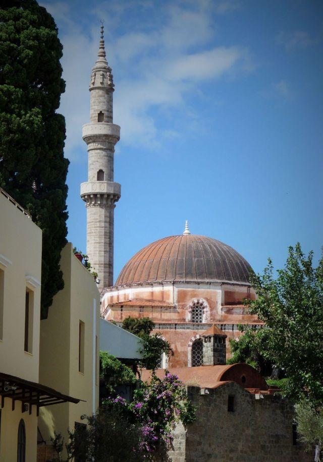 Mosquée Soliman Le Magnifique Rhodes