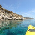 kayak à Rhodes