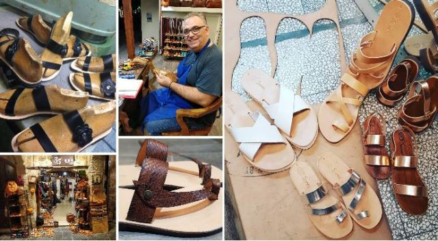 Saavas Sandals - Articles en cuir de Rhodes