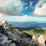 Vue depuis le mont Akramitis