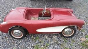 Vintage Kid's Racing Car