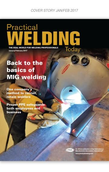 Practical Welding Today Cover jan 2017