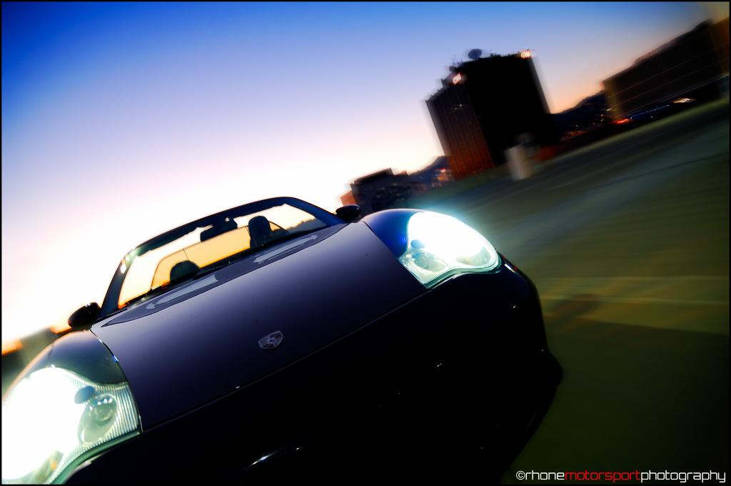porsche 996, carrera 4 cabriolet, c4 cab, rhone motosport photography, john rhone, nikon d2x, rigshot,