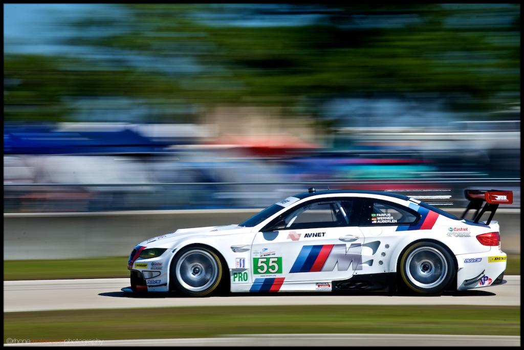 Rhone Motorsport Photography, Sebring, ALMS, 12 hours of Sebring, John Rhone, Nikon D700, BMW M3 GTR