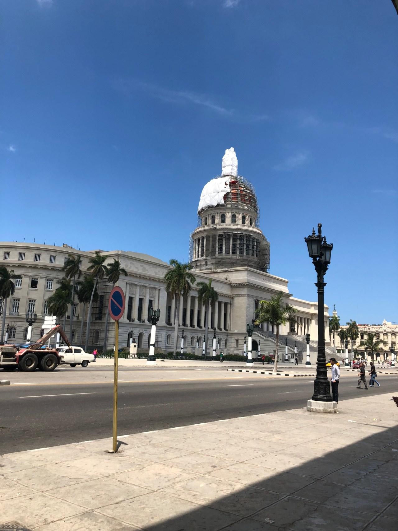 Capital building Cuba