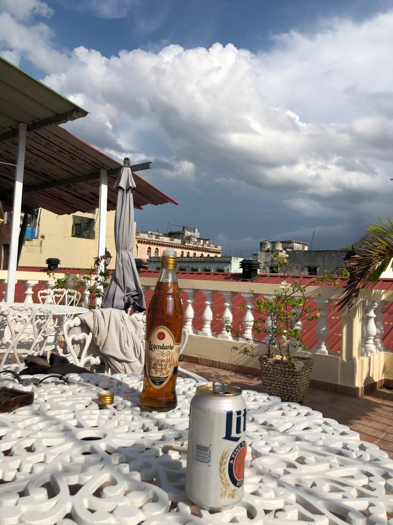 Casa Paticulares rooftop Havana