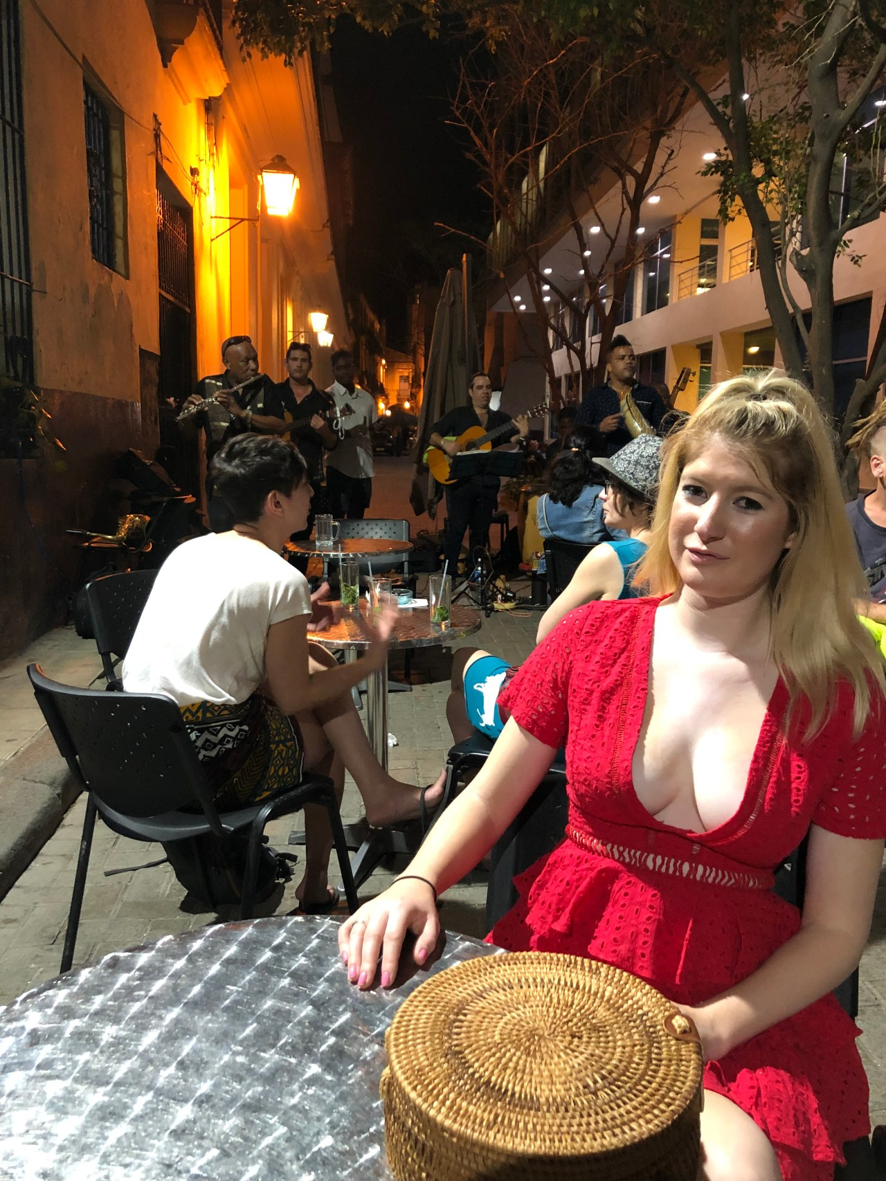 Old Havana night life