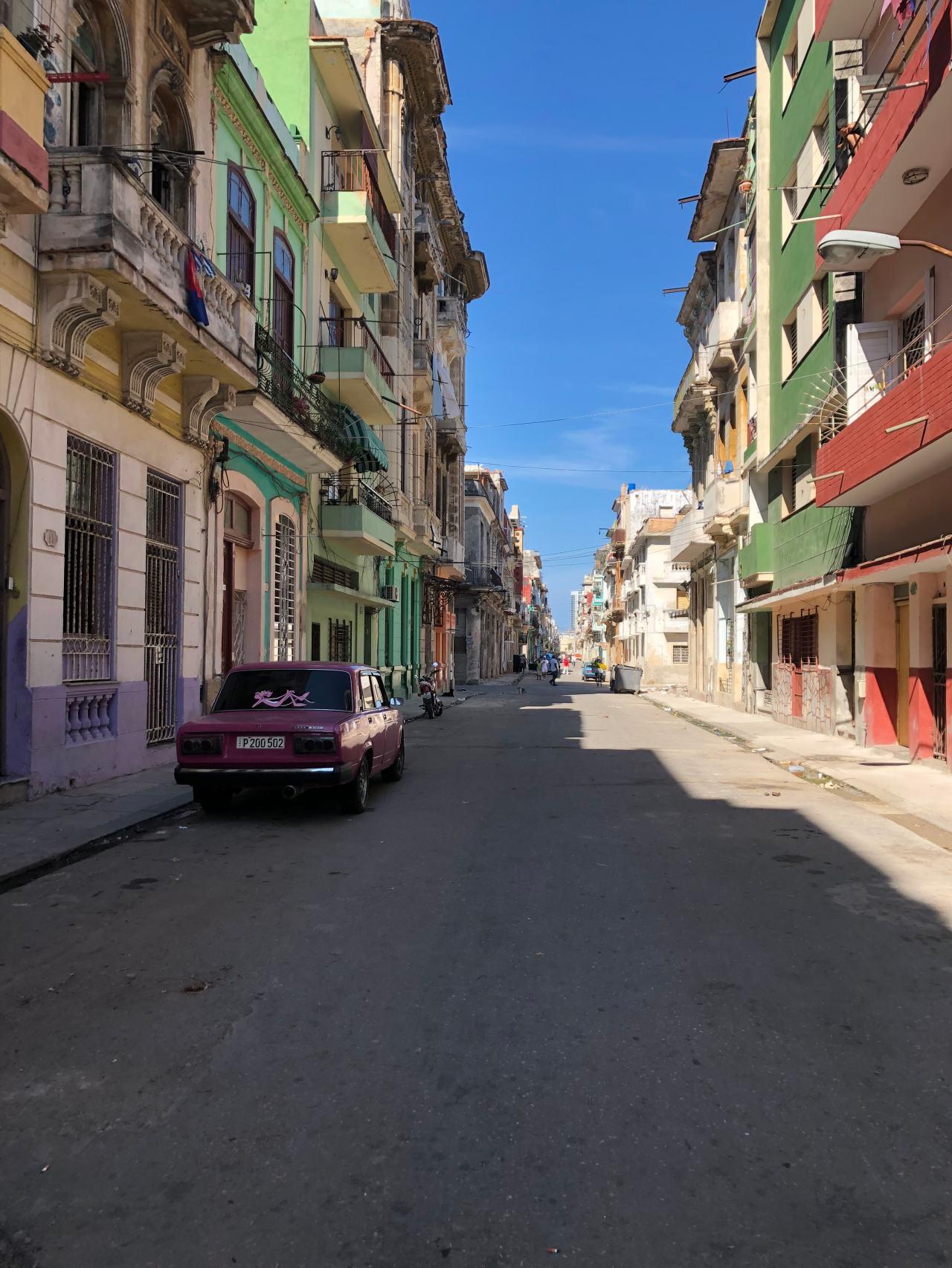 Colourful streets Havana