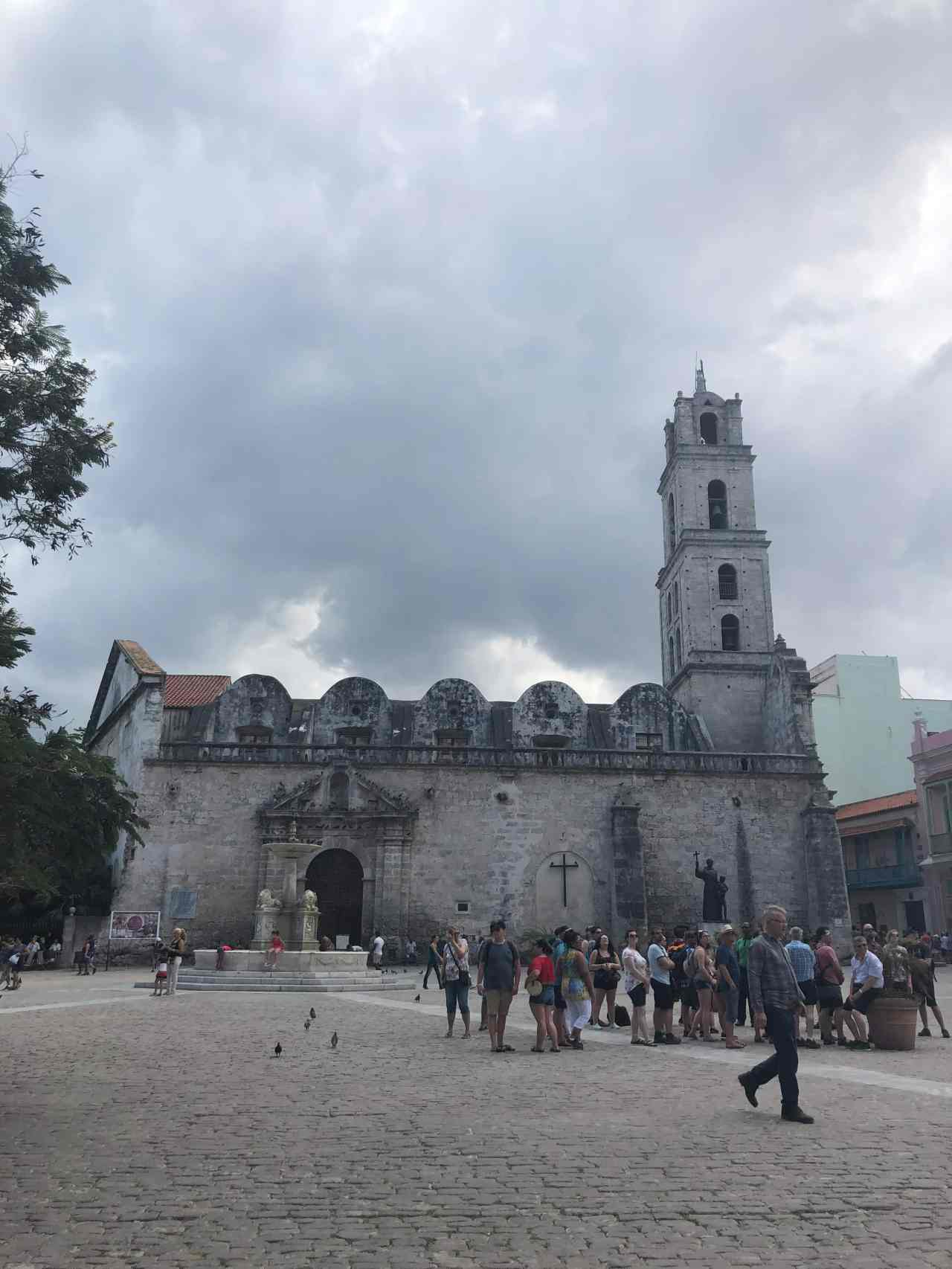 Old catholic church Havana