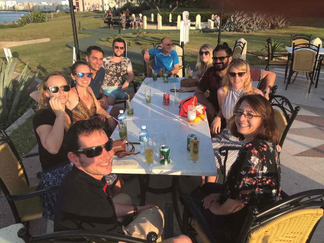 Tour group Intrepid travel Cuba