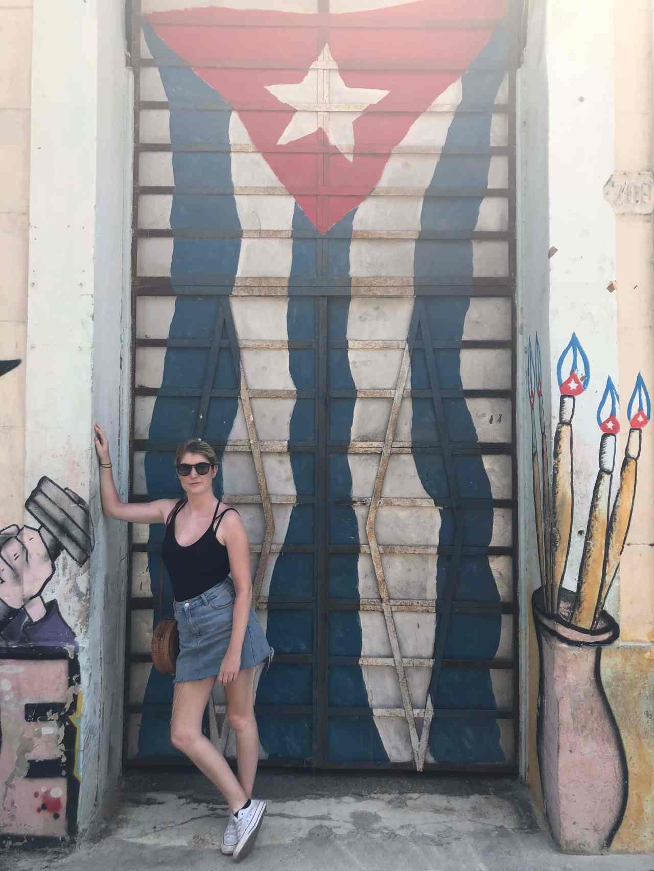 Cuban street art Havana