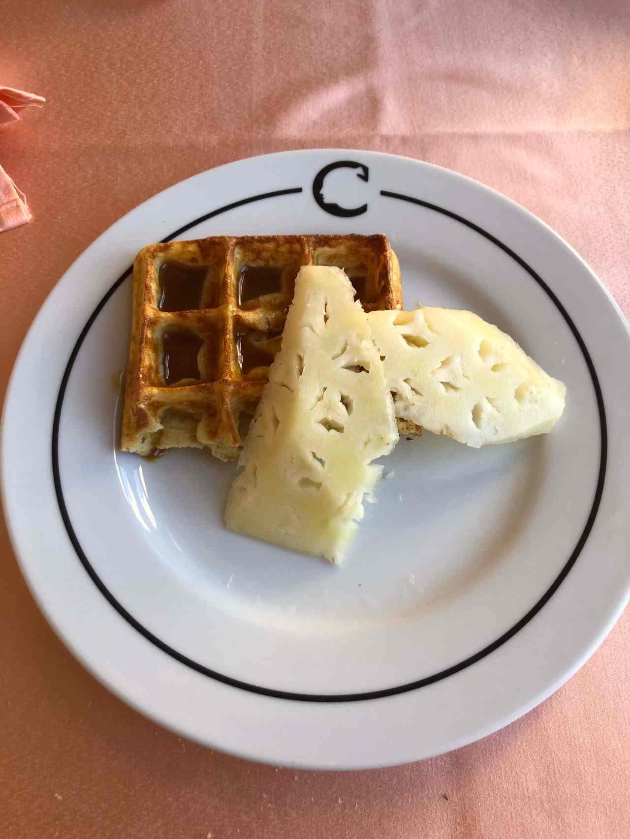 Hotel Nacionale breakfast