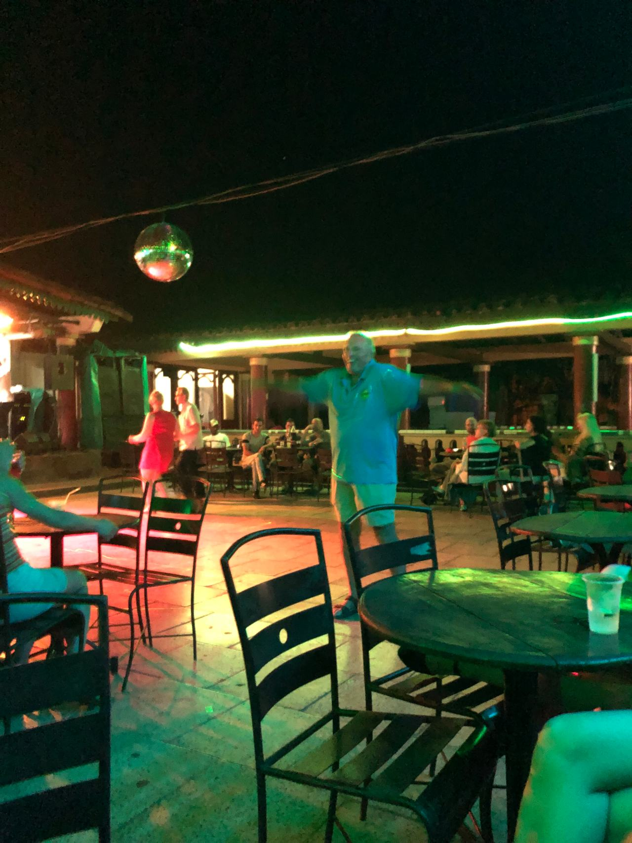 Salsa club in Vinales