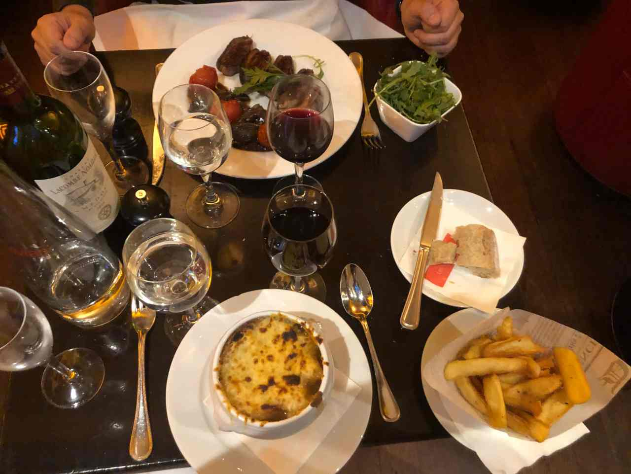 French food at Les Editeurs Paris