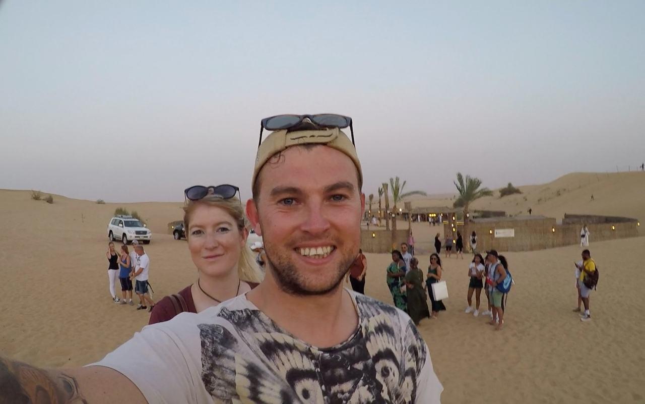 Camel ride Dubai desert