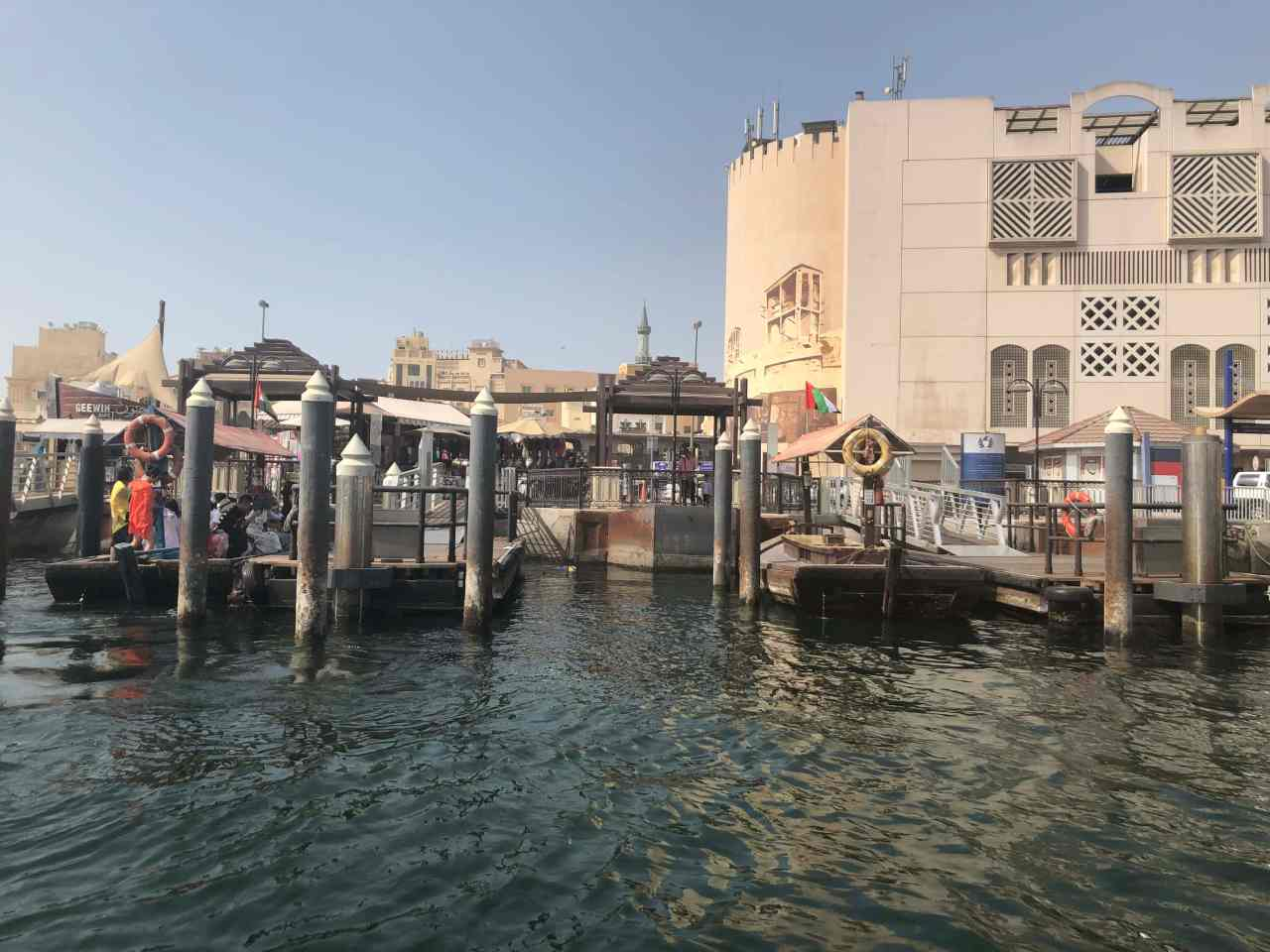 Abra jetty old Dubai