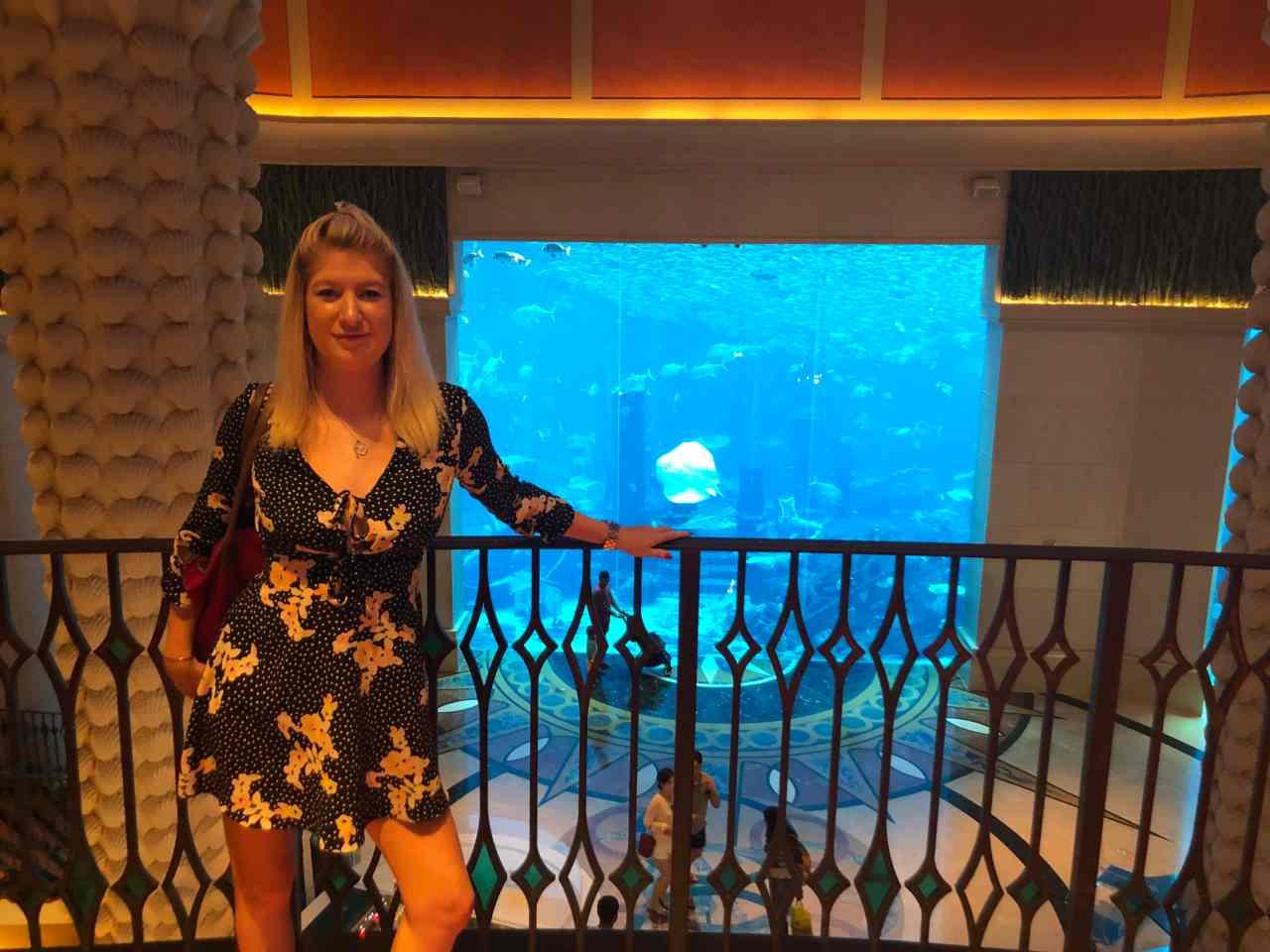 Atlantis aquarium famous instagram spot