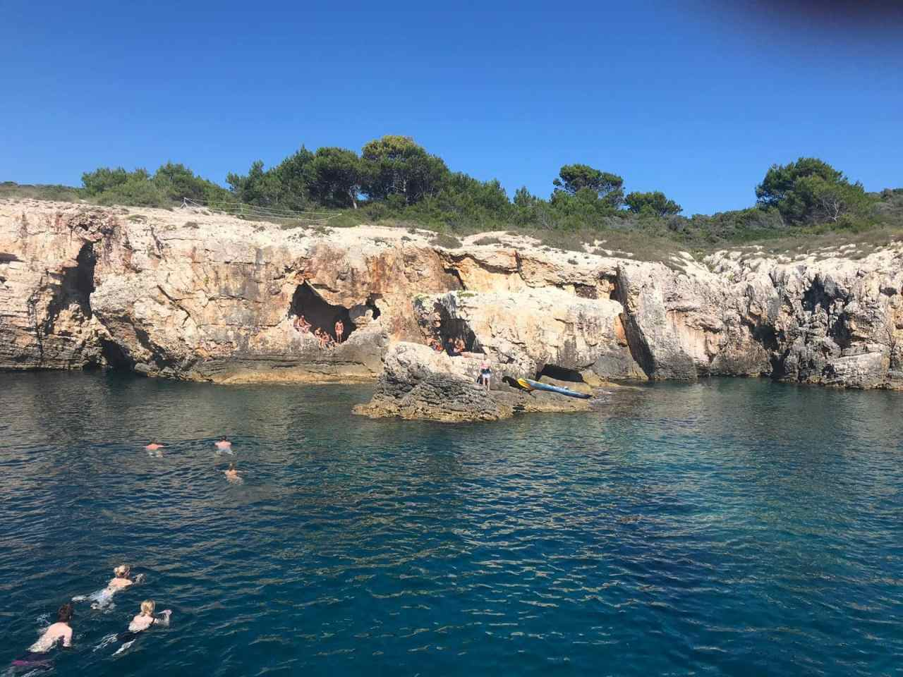 Swimming in Cape Kamenjak with Medulin Excursions