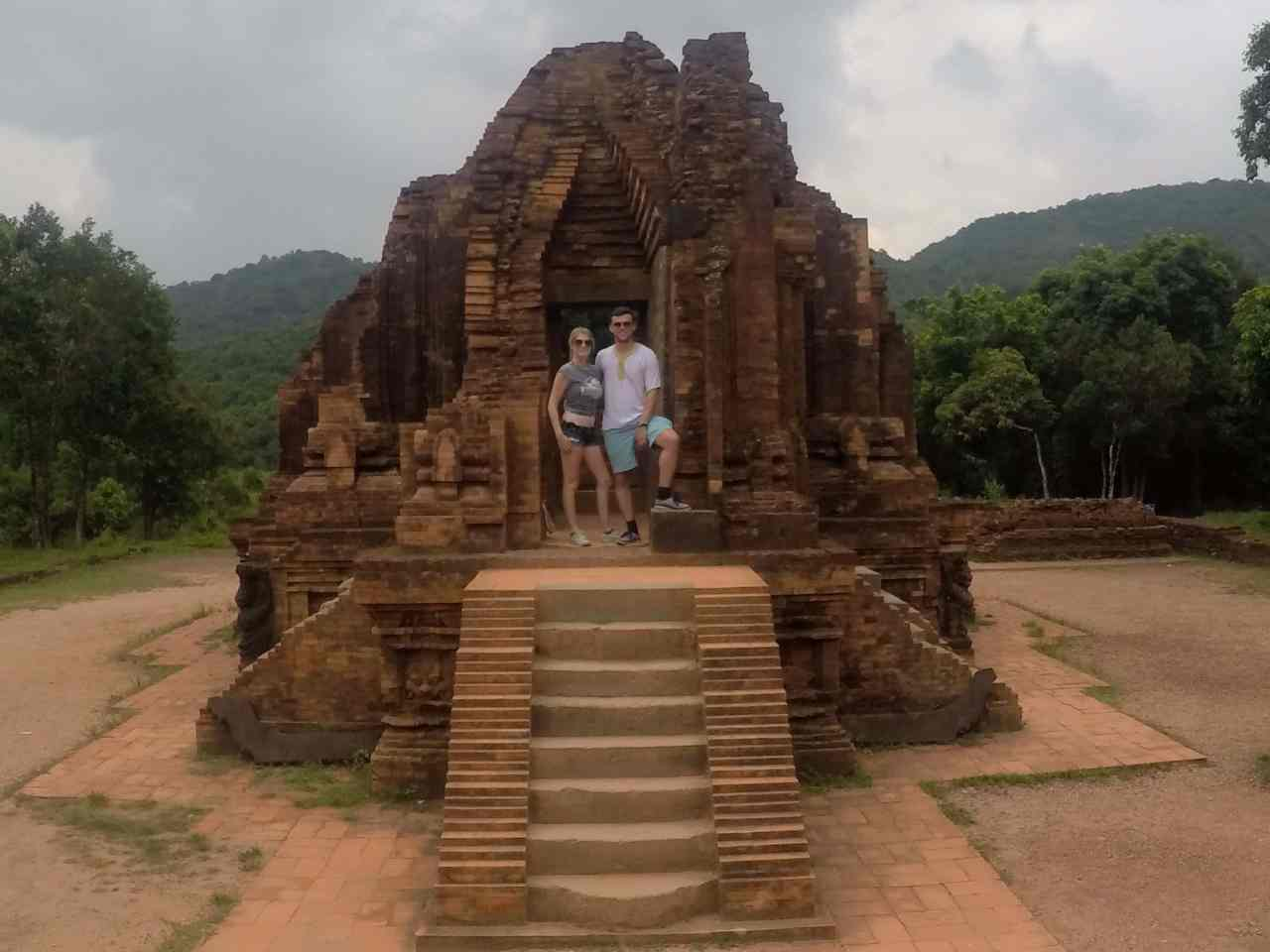 My son Temple complex Vietnam