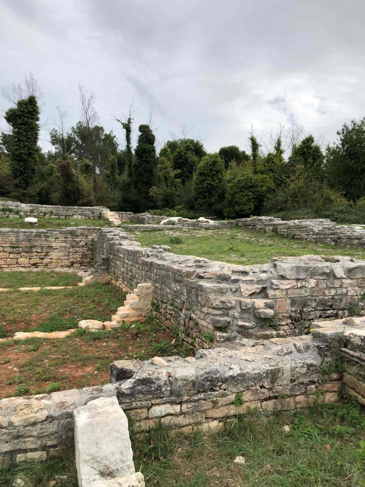 Roman villa Vizula Medulin
