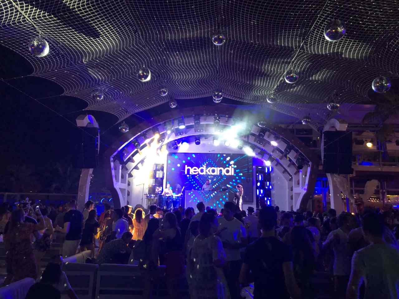 Hedkandi party zero gravity Dubai