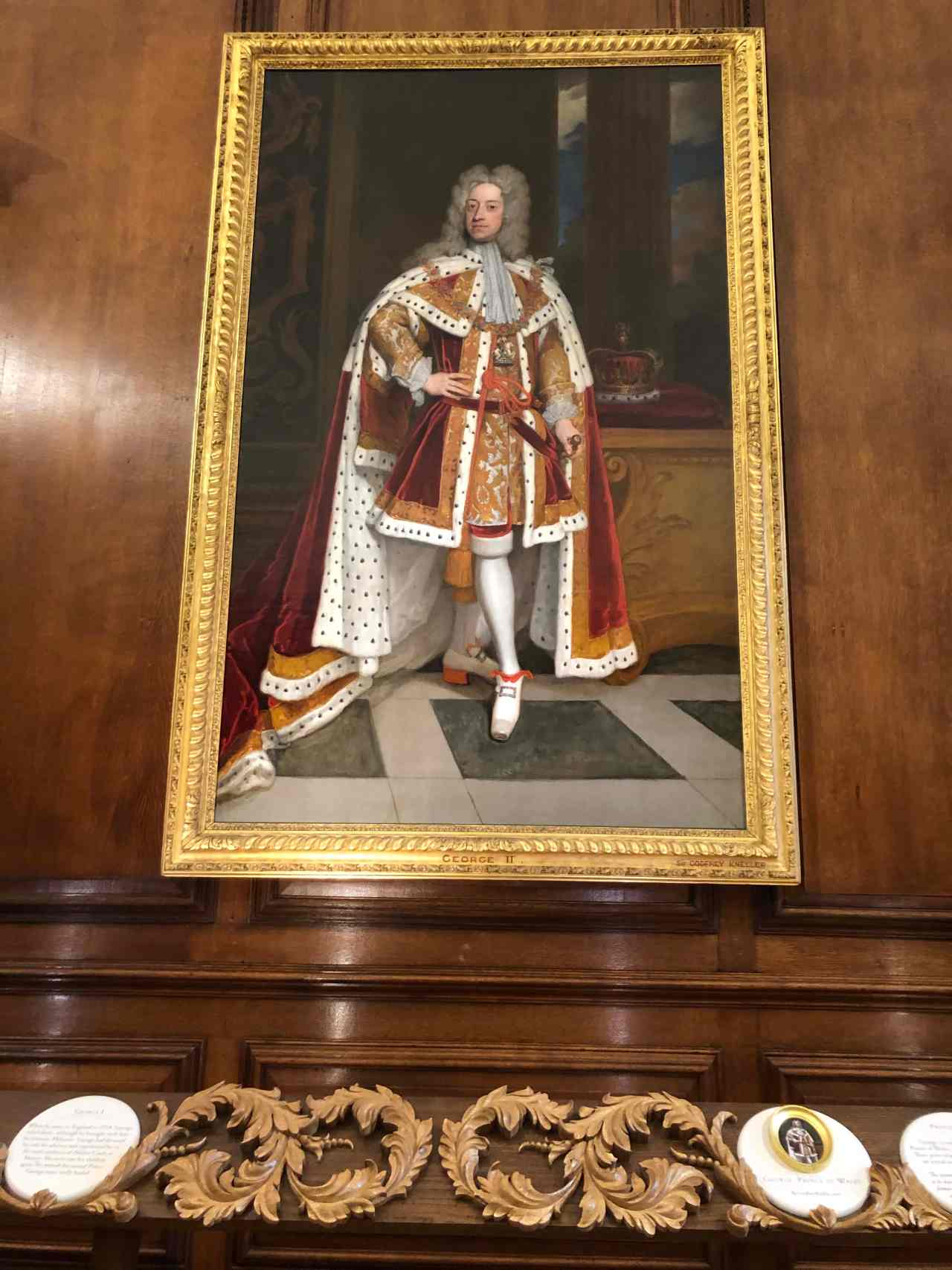 Hampton Court Palace King George