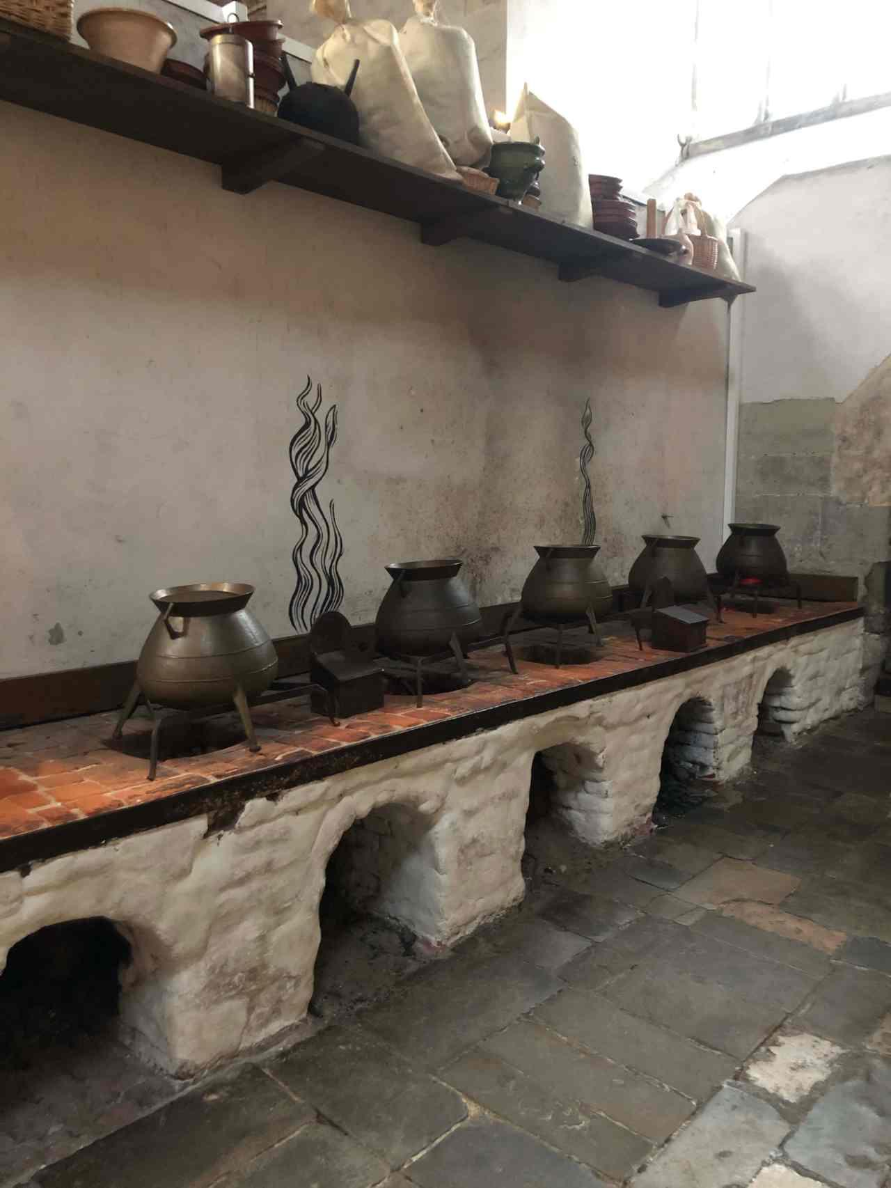 Hampton Court Palace kitchens