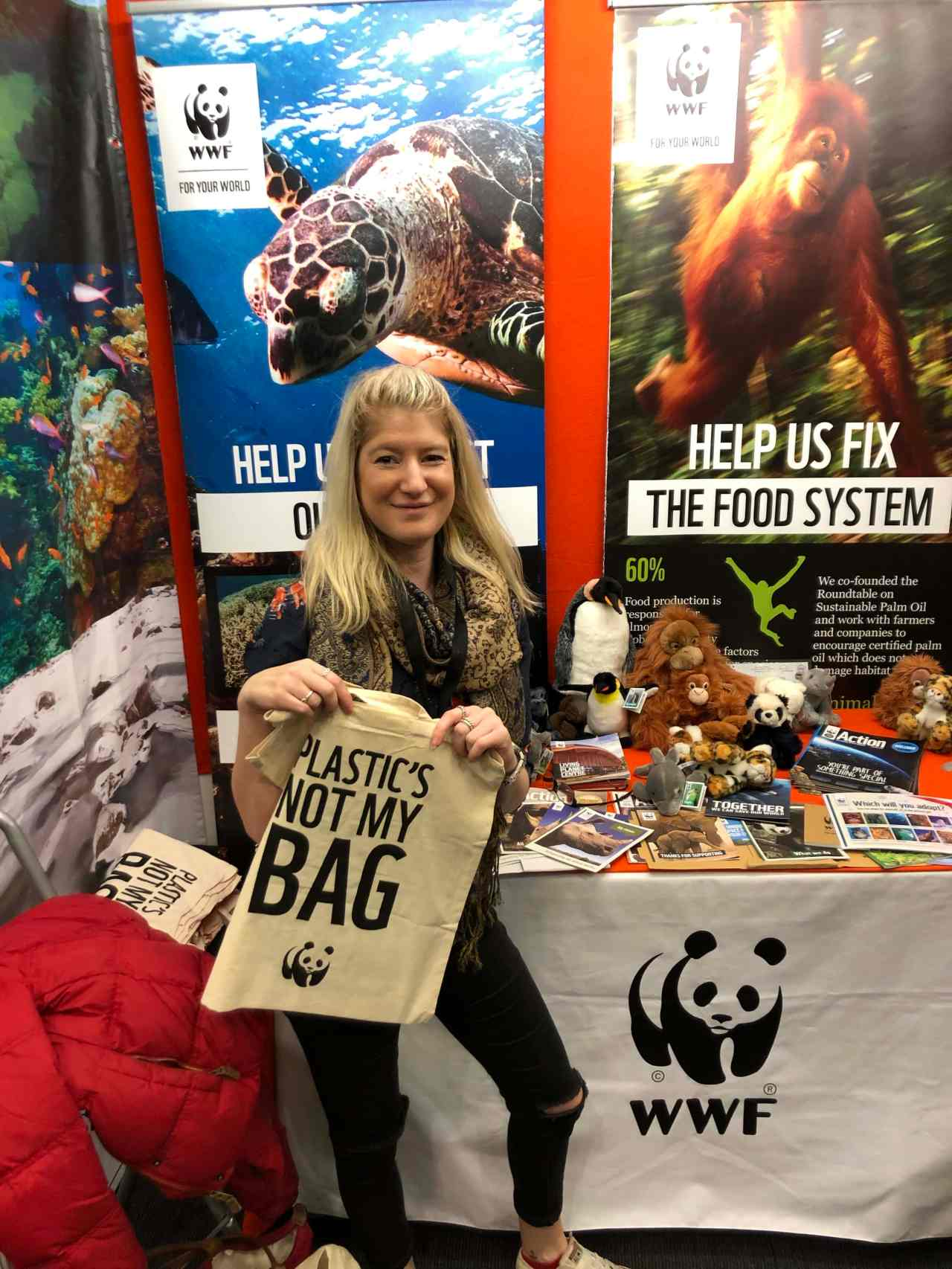 signing up for WWF membership
