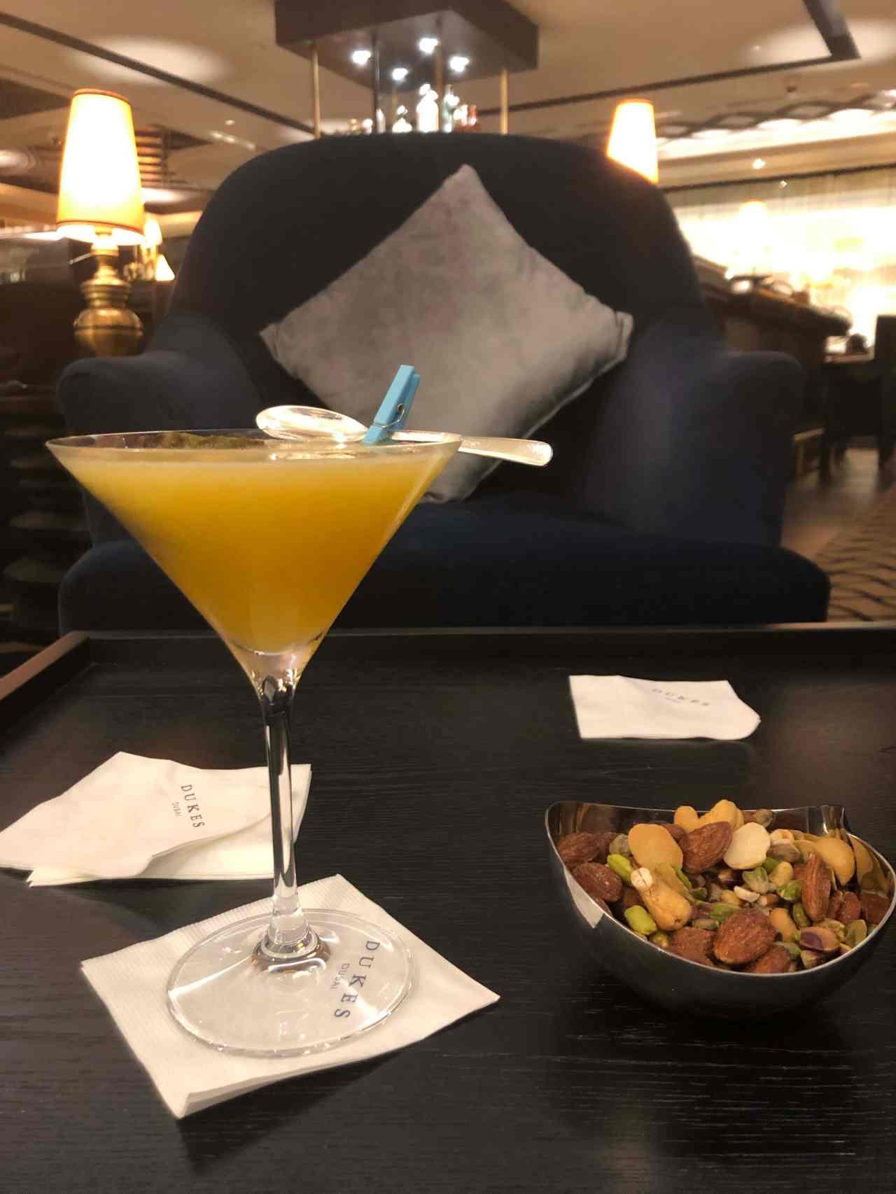 Pornstar martini at Duke's hotel