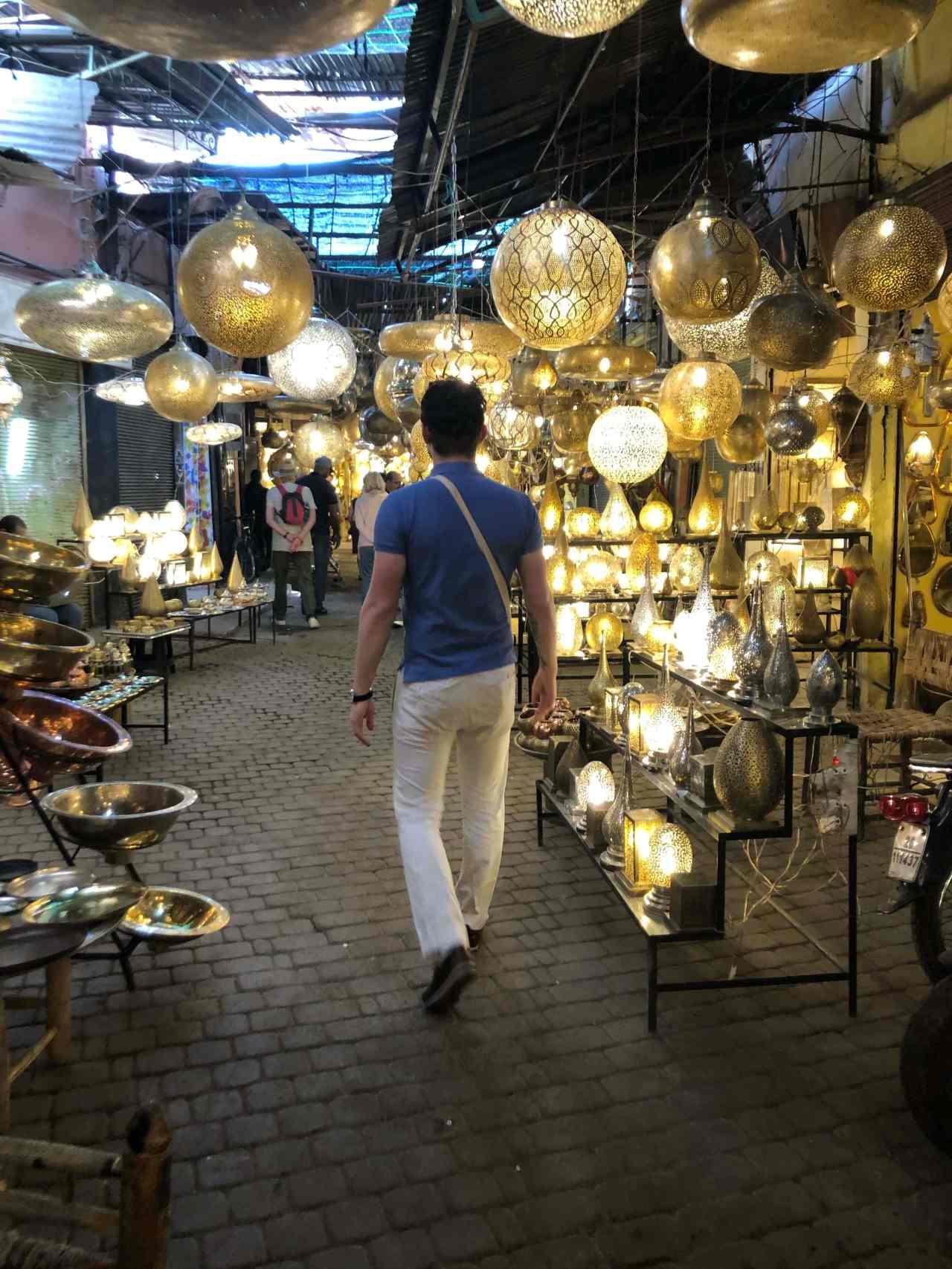 Lamp souk Marrakech