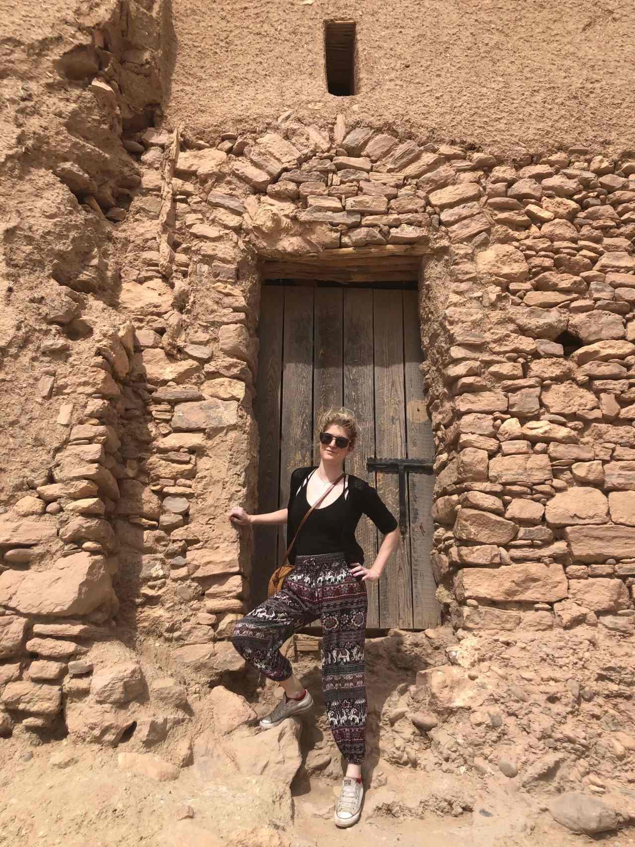 The doorway to the Sahara
