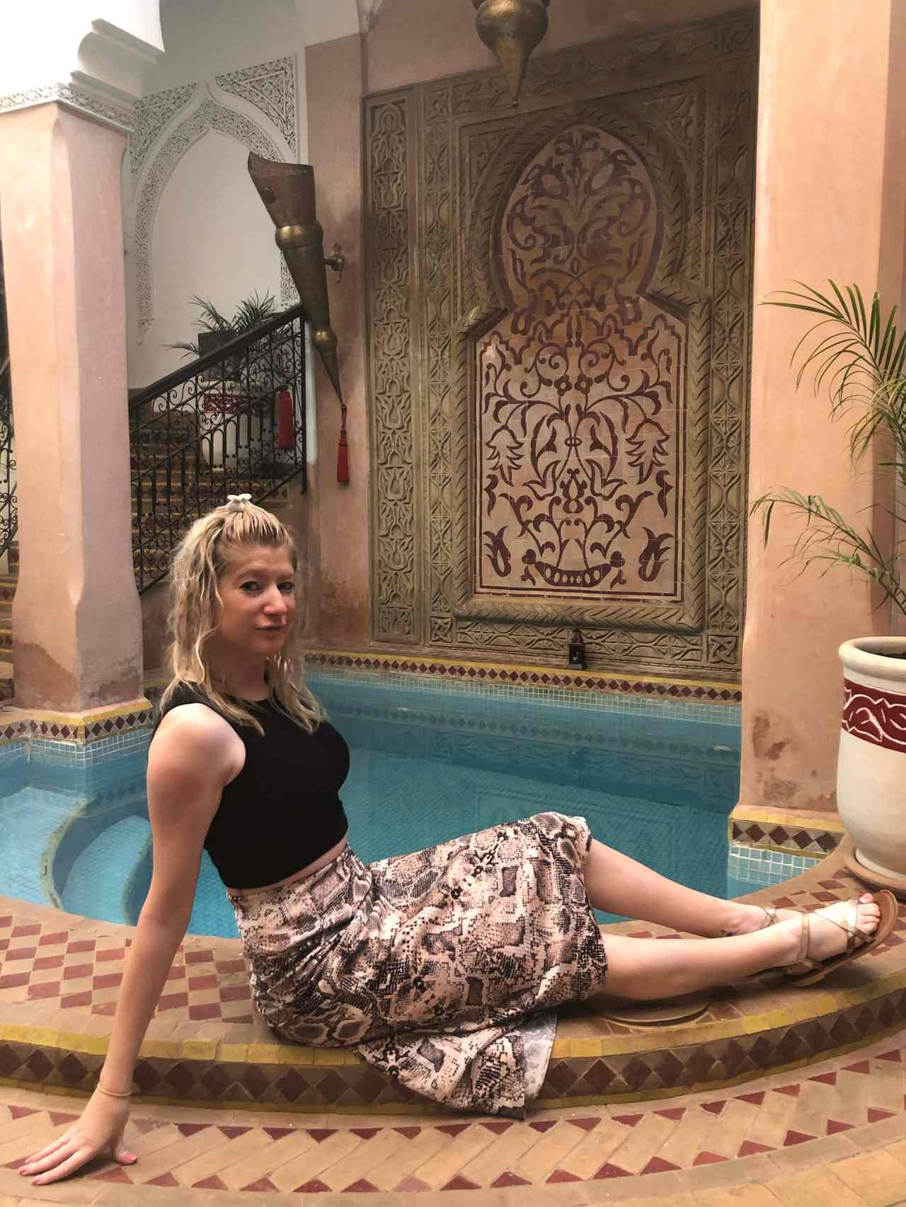 Riad Oumaima pool