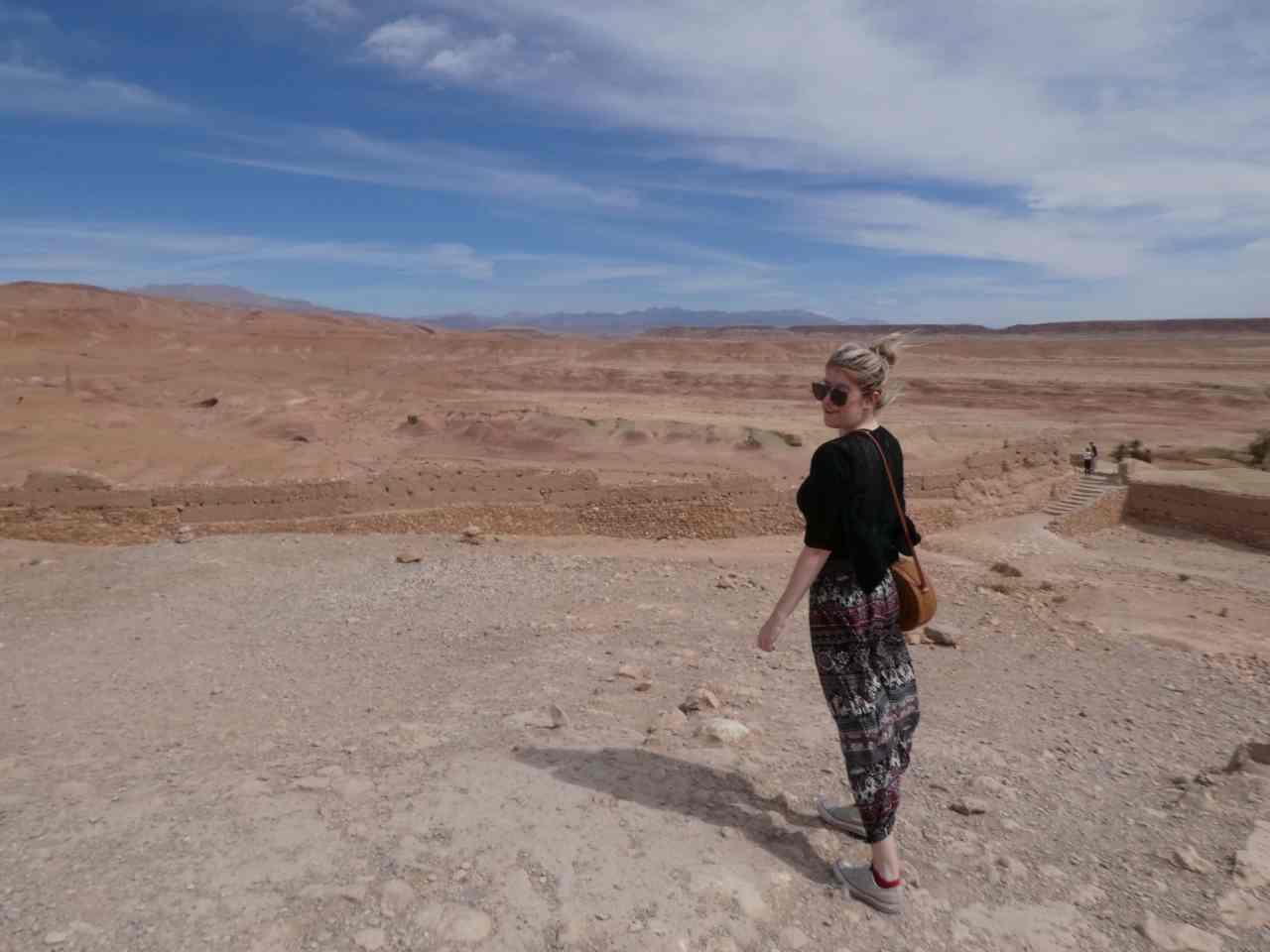 The doorway to the sahara desert