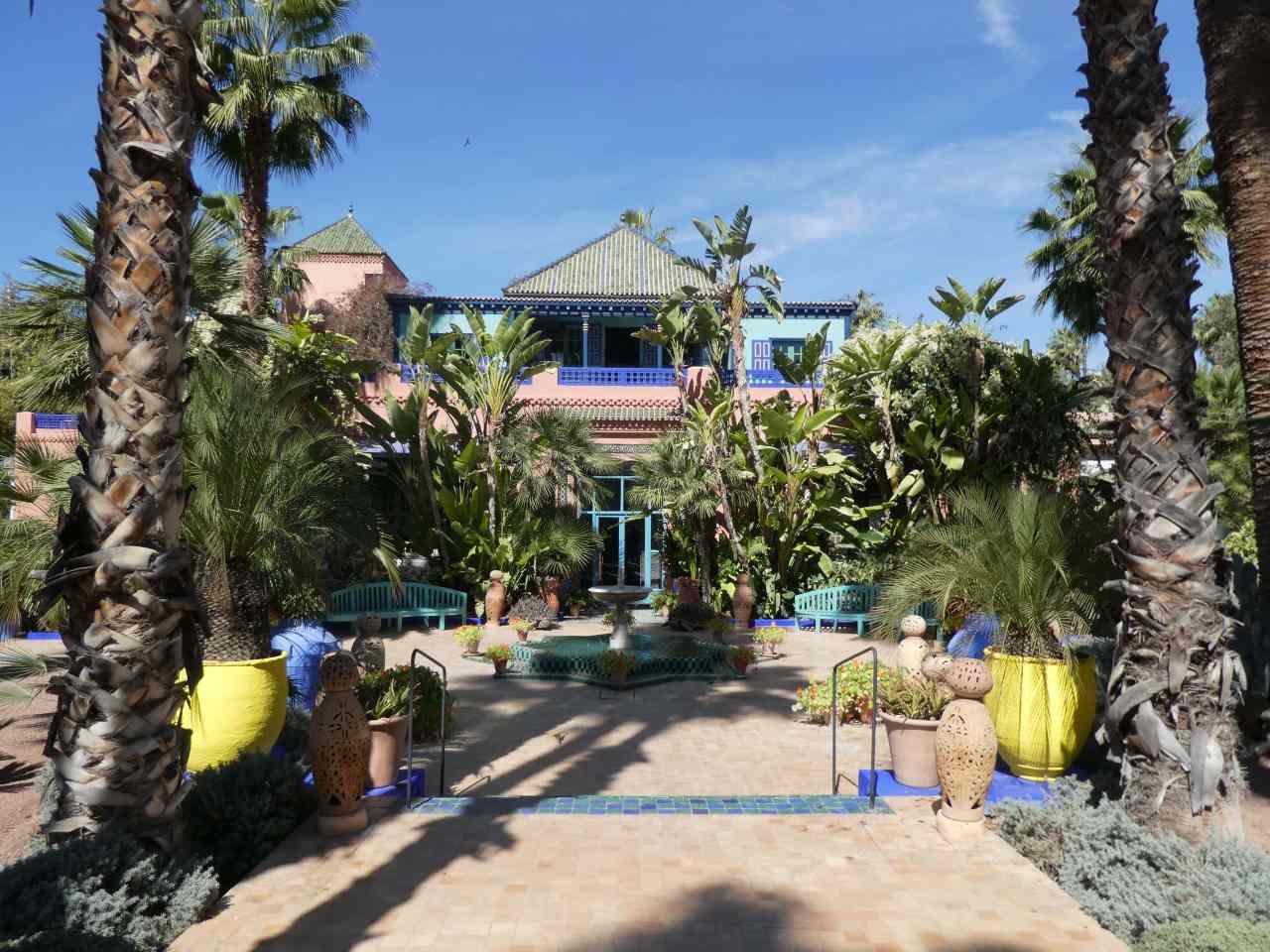 Yves Saint Lauren't home in Marrakech