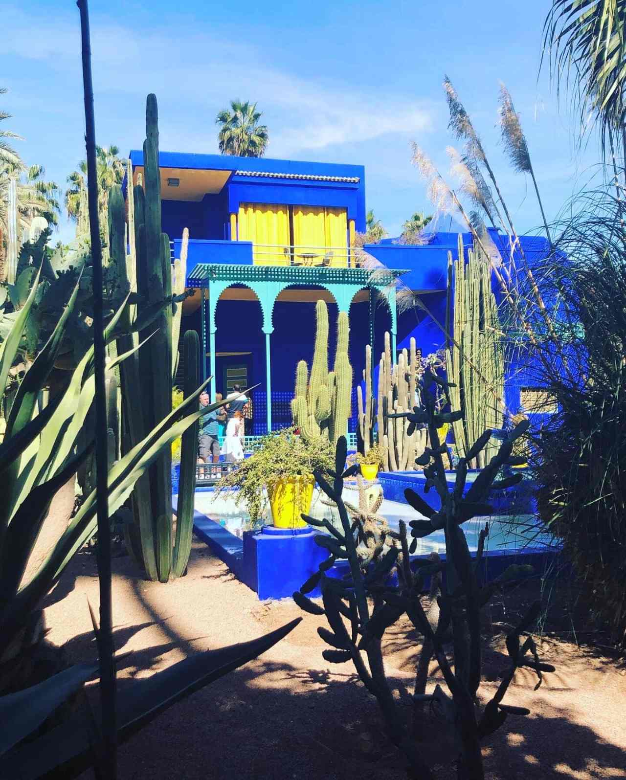 Le Jardin Majorelle house